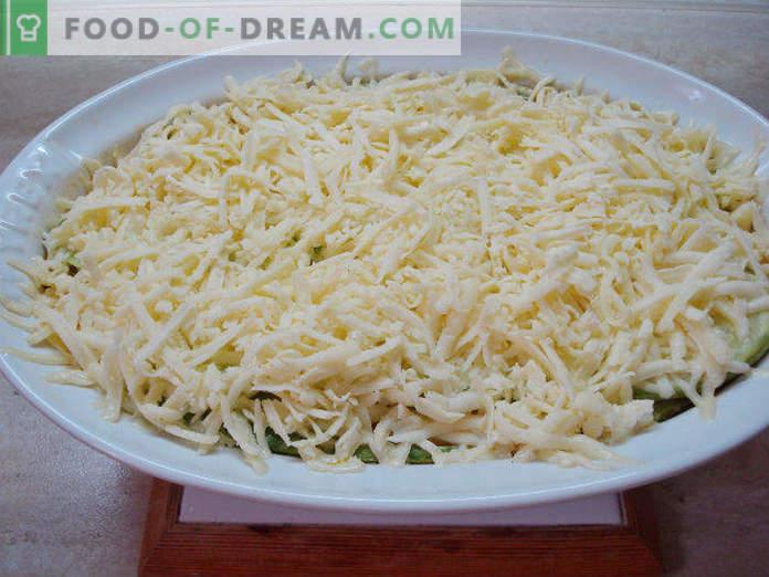 Lasagne mit Zucchini