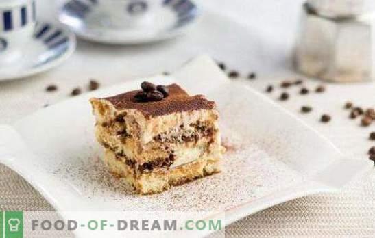 Leckere und einfache Desserts: Schnell zu Hause Süßigkeiten zubereiten! Die einfachsten Rezepte für Desserts aus Keksen, Essstäbchen, Obst, Sauerrahm und Lebkuchen
