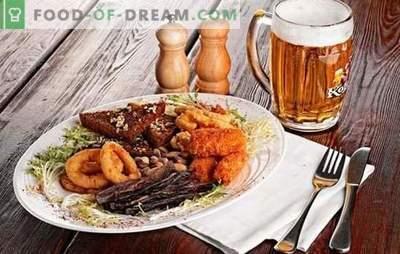 Snacks für Bier: Originalrezepte für die Hausmannskost. Rezepte für leckere und herzhafte Biersnacks