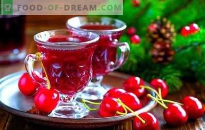 Kersenlikeur: heldere kleuren van de zomer in een glas! Kersenlikeurrecepten - drie manieren om te maken: de kunst van thuiswizards