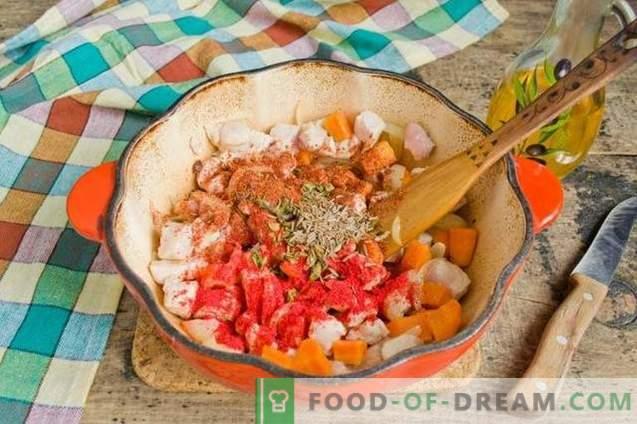 Meat Plov für ein schnelles und befriedigendes Abendessen.