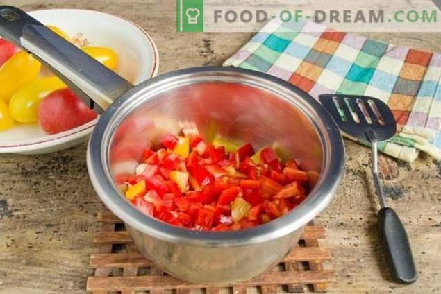 Suppe mit Nudeln und Gemüse - wenn sie schnell, gesund und lecker ist