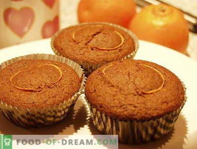 Muffins sind die besten Rezepte. Wie man richtig und lecker Muffins zubereitet.