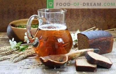 Kwas aus Kwaswurzelkonzentrat ist das beste Getränk bei heißem Wetter. Wie man Kwas aus Most zum Trinken und Trinken herstellen kann