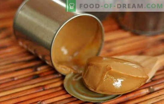 Wie man Kondensmilch zu Hause zubereitet: die besten Wege, Tipps und Tricks. Rezepte mit hausgemachter gekochter Kondensmilch