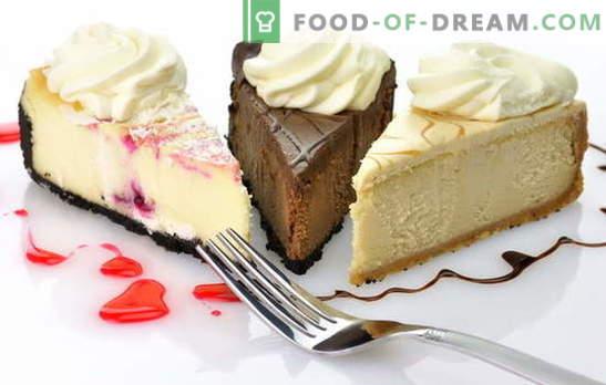 Cake Cheesecake: Originalrezepte zum Zubereiten eines süßen Desserts. Backe Käsekuchen mit eigenen Händen: von Keksen, Sahne, Hüttenkäse, Käse