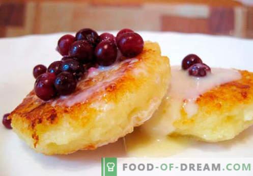 Klassischer Käsekuchen - die besten Rezepte. Wie man schnell und lecker klassische Käsekuchen kocht.