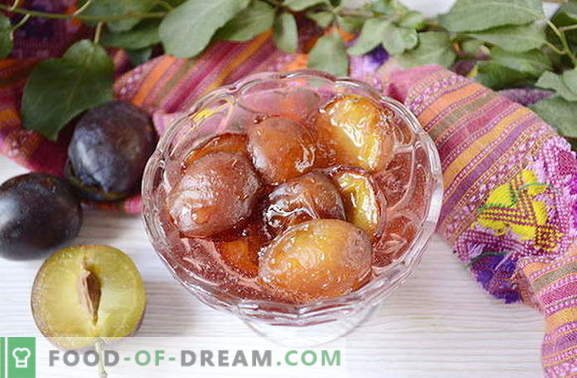 Original Marmelade aus Pflaumen mit Gewürzen
