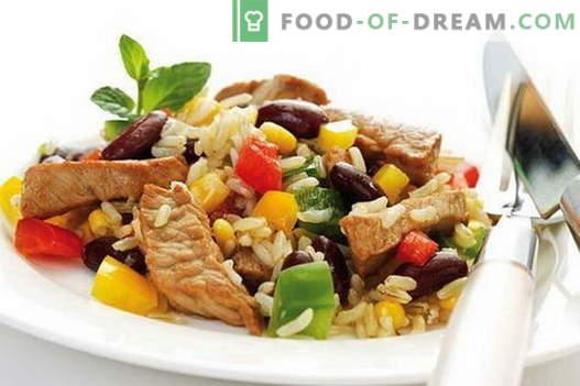 Reis mit Fleisch - die besten Rezepte. Wie man richtig und lecker Reis mit Fleisch kocht.