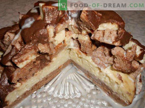Cake Count Ruinen, Rezepte mit Sauerrahm, Baiser, Kondensmilch und Vanillepudding