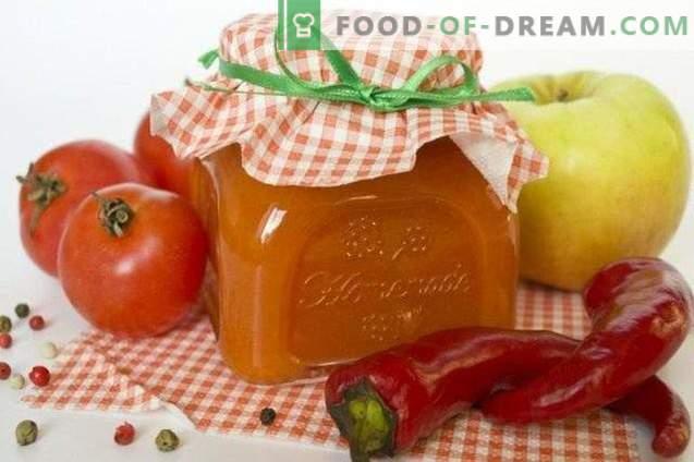 Würziger Ketchup mit Antonovka