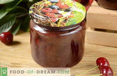 Original Kirschmarmelade mit Schokolade