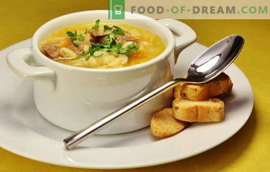 Entensuppe: Gemüse, mit Spargel, Reis, Erbsen, würzig. Rezepte für leckere und reichhaltige Entensuppen, Entensuppe