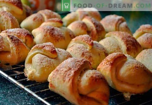 Bagels auf Kefir - die besten Rezepte. Wie man richtig und lecker Bagels auf Joghurt kocht.