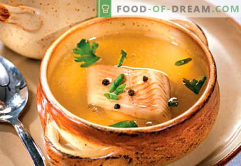 Fischbrühe - die besten Rezepte. Wie man richtig und lecker Fischbrühe kocht.