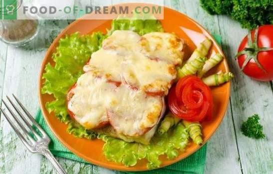 Tilapia mit Käse ist ein delikates Fischgericht. Varianten von Tilapia mit Käse im Teig, in Teigform, in Form von Brötchen, Auflauf und Steaks