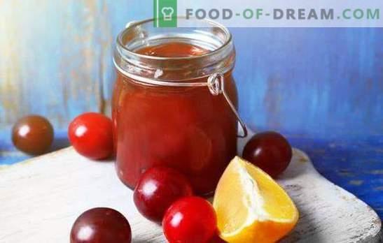 Geheimnisse der Marmelade aus Orangenpflaumen für den Winter. Rezepte Marmelade aus Pflaumen mit Orangen: Kaukasisch,