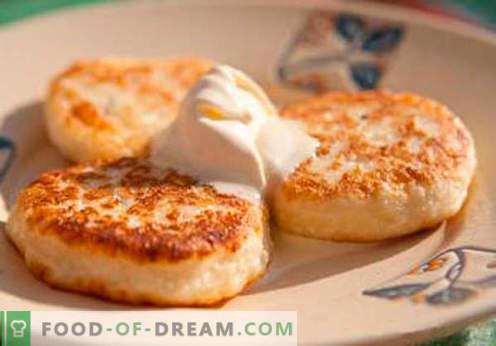 Mannas Käsekuchen - die besten Rezepte. Wie schnell und lecker Käsekuchen mit Grieß zubereiten.