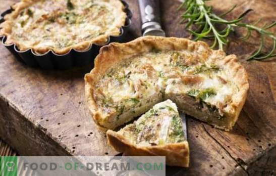 Pie auf Joghurt - zu Hause backen! Rezepte für süße und salzige Hackfleischpasteten mit Fisch, Fleisch, Gemüse, Obst