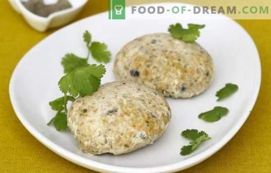 Fischbratlinge vom Wittling - gute Einsparungen! Rezepte für Fischbratlinge vom Wittling in einer Pfanne im Ofen gedämpft