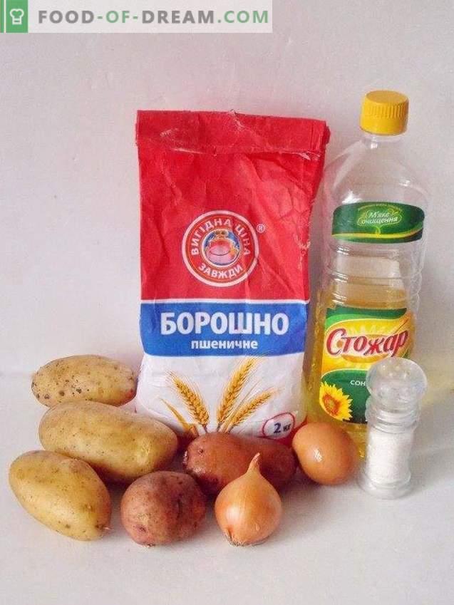 Kartoffelpfannkuchen oder Draniki