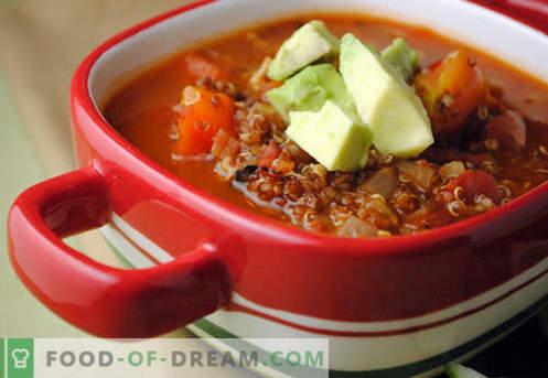 Magere Suppe - bewährte Rezepte. Wie man richtig und lecker magere Suppe kocht.