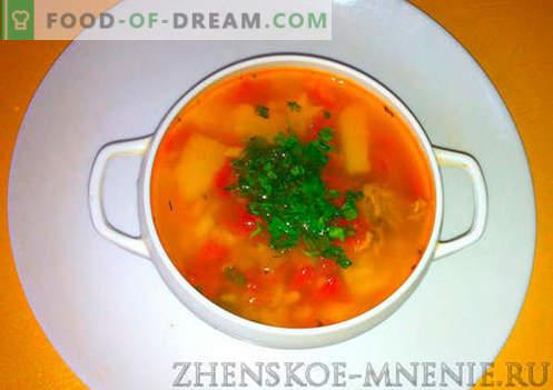 Kharcho-Suppe - Rezept mit Fotos und Schritt für Schritt Beschreibung
