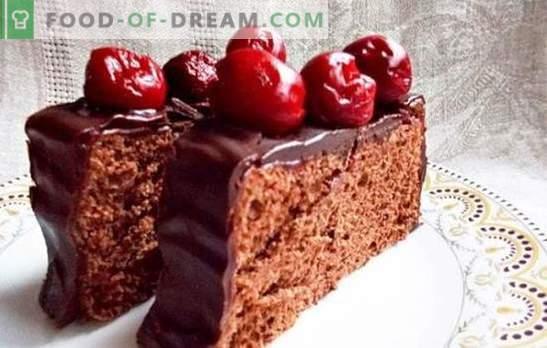 Ein üppiger Schokoladen-Biskuitkuchen in einem Multikocher ist die Basis für Kreativität. Geheimnisse der perfekten Schokoladen-Biskuit-Torte in einem langsamen Kocher