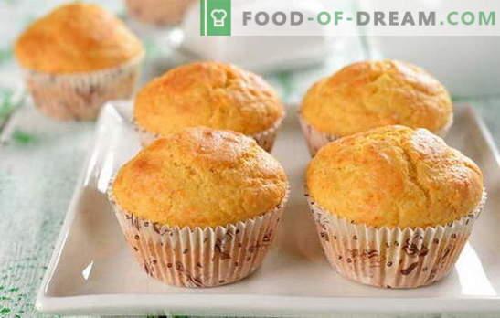 Schnell Cupcake - wir gönnen uns lecker! Schnellrezepte für Muffins: Schokolade, Rosinen, Halwa, kandierte Früchte, Zimt