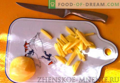 Pilzsuppe - Rezept mit Fotos und Schritt für Schritt Beschreibung