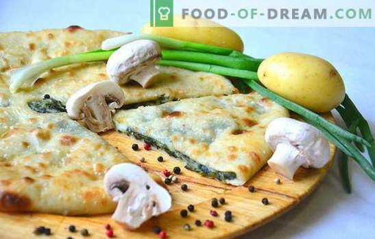 Kartoffel-Zwiebel-Torte ist hausgemacht! Rezepte verschiedener Pasteten mit Kartoffeln und Zwiebeln im Ofen und im Multikocher