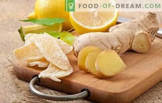 Kandierter Ingwer ist eine universelle Erkältungspille und eine nützliche Delikatesse. Einfache Rezepte zur Herstellung von kandiertem Ingwer