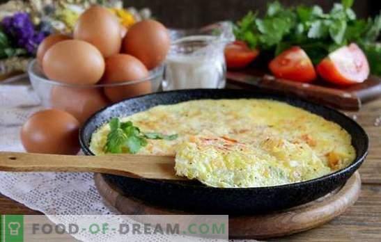 Anfängerfehler beim Kochen von Omeletts