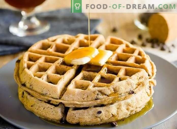 Belgische Waffeln - schnell und lecker zu Hause kochen