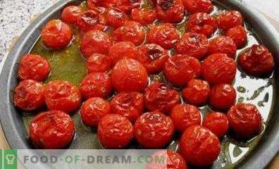 Geröstete Tomaten für den Winter