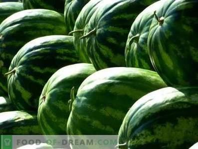 Wassermelonen lagern