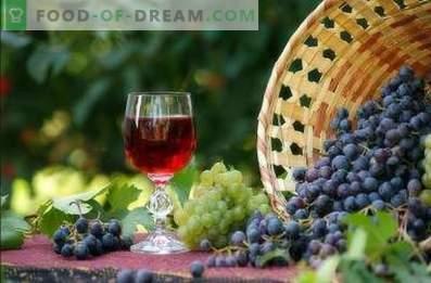 Wein aus Trauben