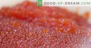 Wie man roten Kaviar aufbewahrt