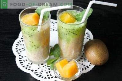 Kiwi-Smoothies