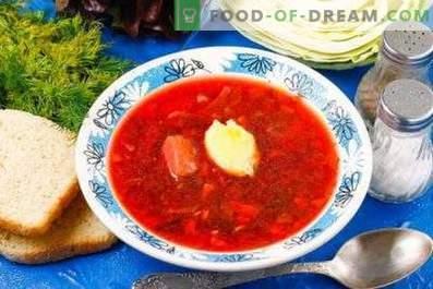 Rote-Bete-Suppe mit roter Rübe zubereiten