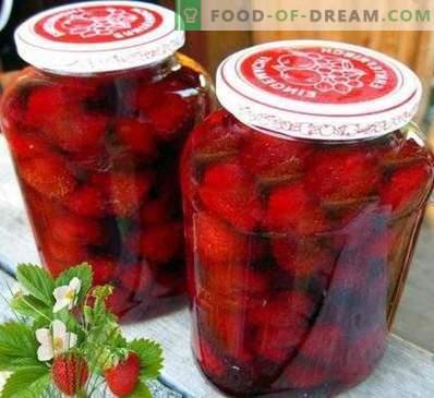Erdbeermarmelade ohne zu kochen