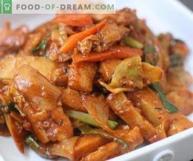 Koreanisches Hühnchenhee