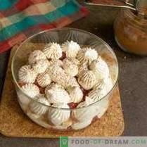 Kleinigkeit mit Erdbeeren - leichtes Dessert