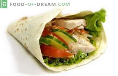 Shawarma mit Hühnchen