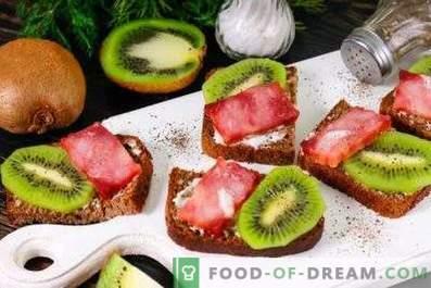 Kiwi-Sandwiches