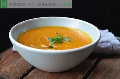 Kichererbsenpüree-Suppe