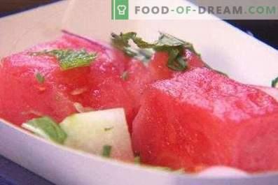 Eingelegte Instant-Wassermelone
