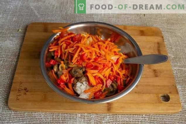Gedämpfte vegetarische Kohlrouladen aus Wirsing