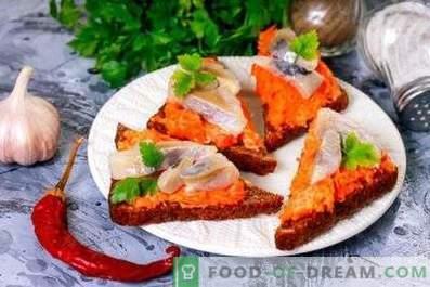 Heringsandwiches