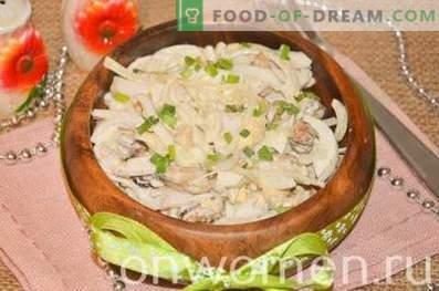 Salade de moules et calamars
